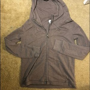 Banana Republic light tan colored hoodie medium